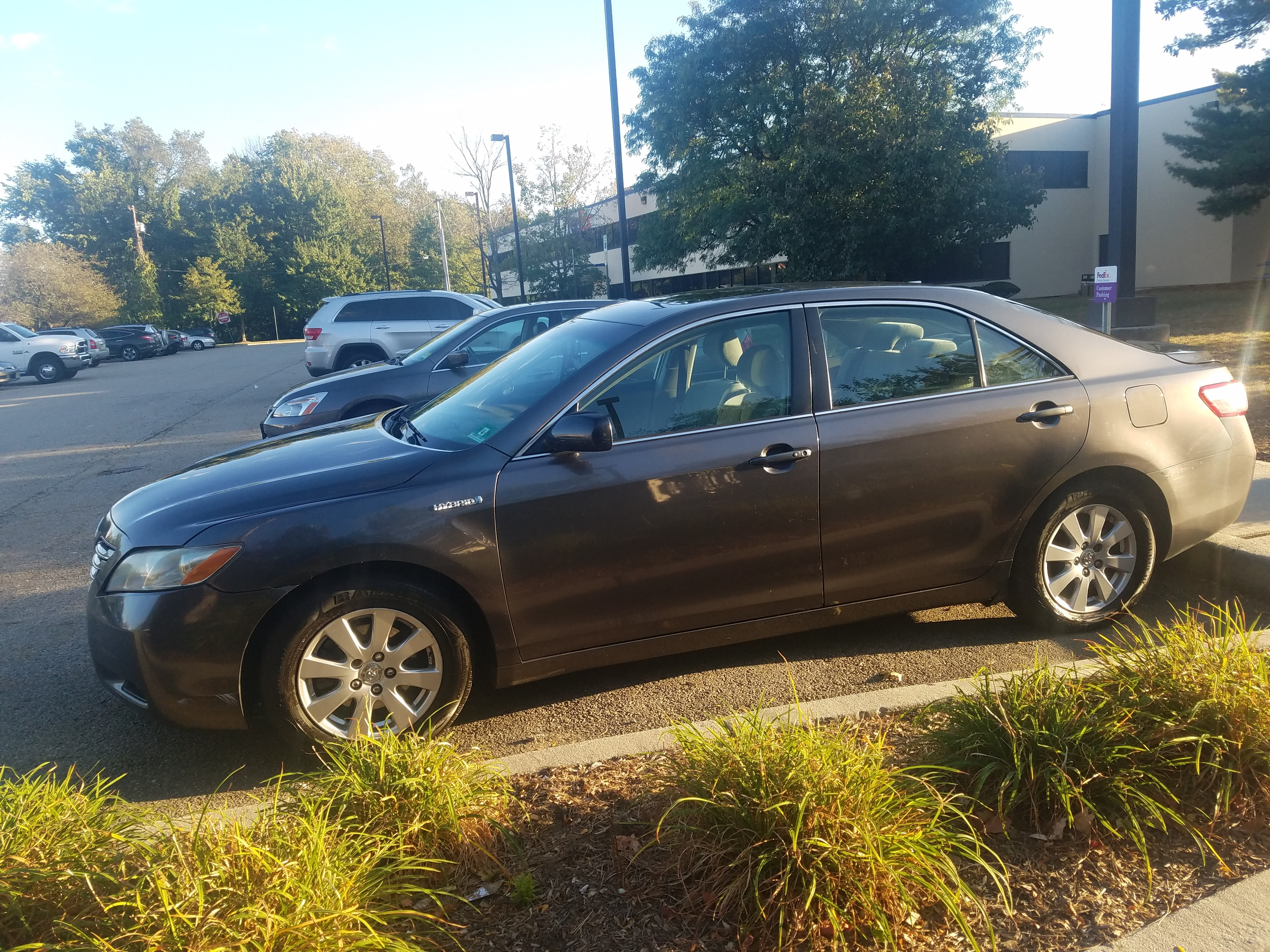 Junk 2007 Toyota Camry New Generation in North Bergen
