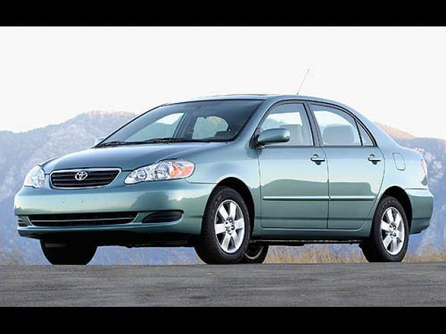 Junk 2007 Toyota Corolla in Fort Worth