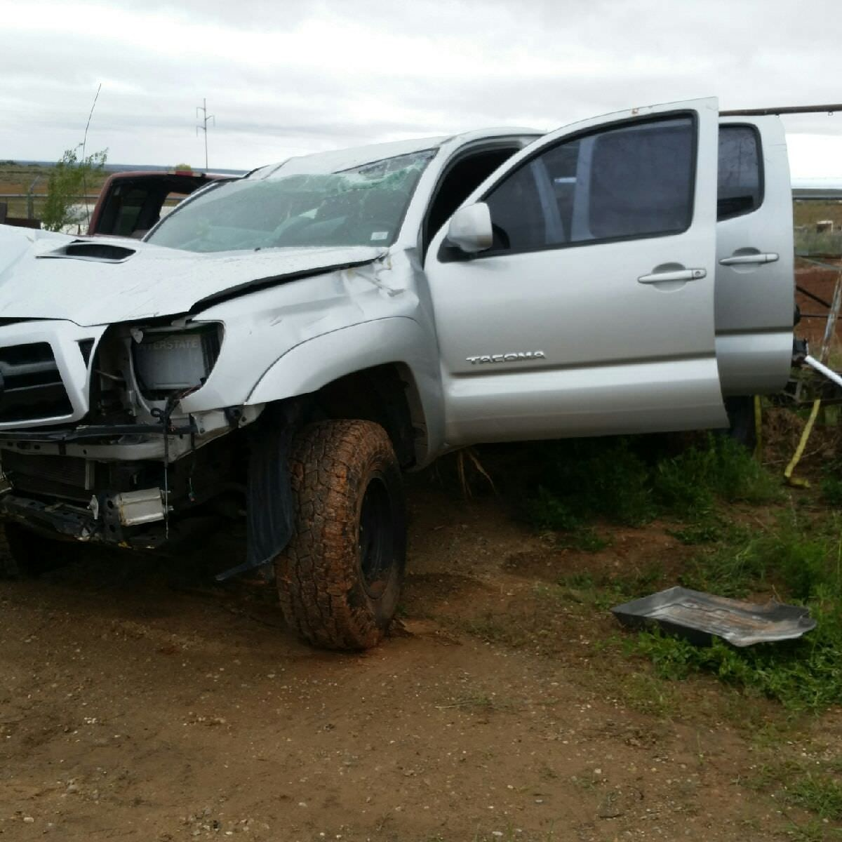 Junk 2007 Toyota Tacoma in Blanding
