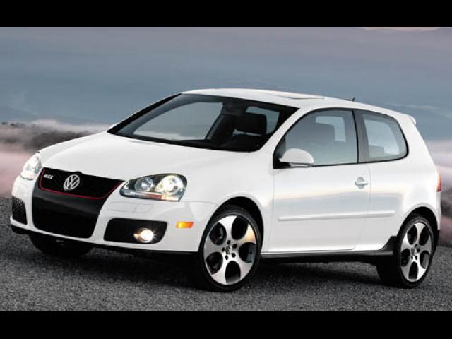 Junk 2007 Volkswagen New GTI in Orange