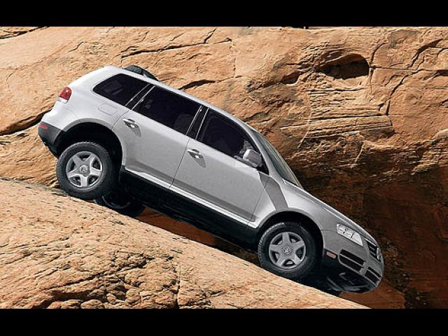 Junk 2007 Volkswagen Touareg in Houston