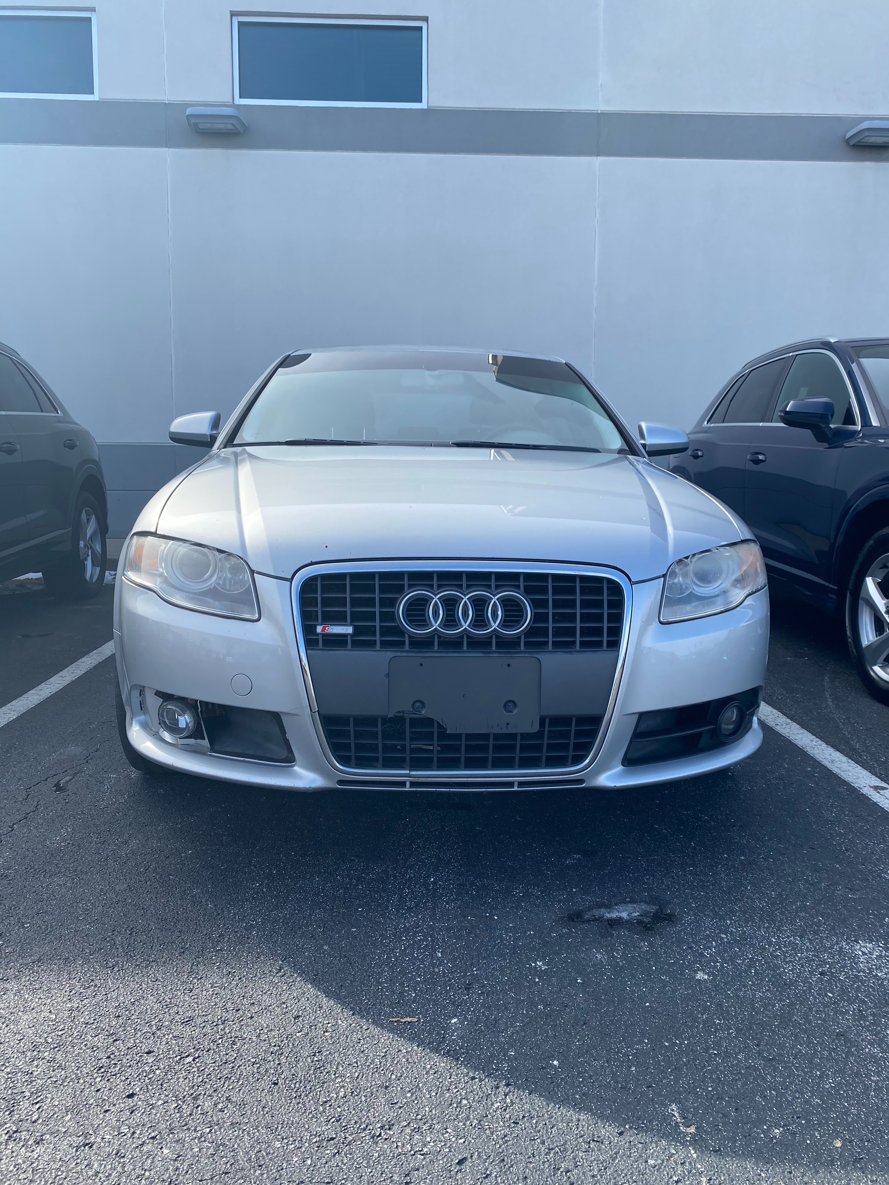 Junk 2008 Audi A4 in Lexington
