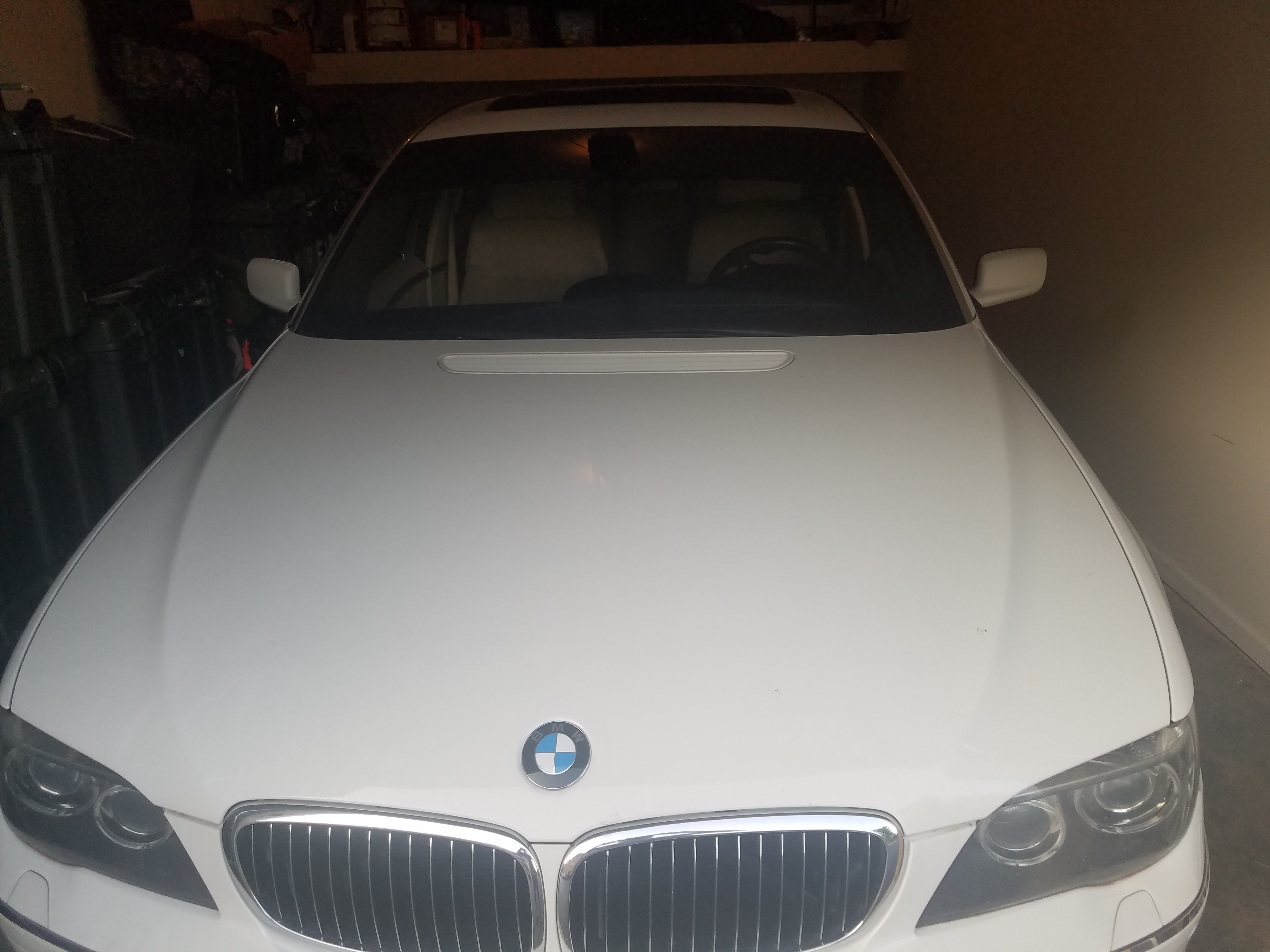 Junk 2008 BMW 750 in Clarksville