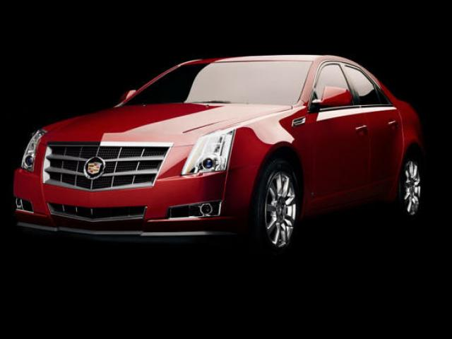 Junk 2008 Cadillac CTS in Roanoke