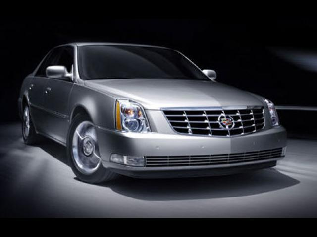 Junk 2008 Cadillac DTS in Newport Beach