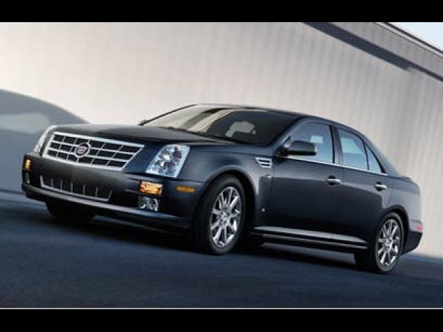 Junk 2008 Cadillac STS in Milwaukee