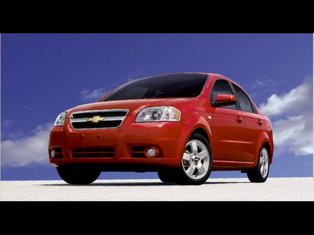 Junk 2008 Chevrolet Aveo in Houston