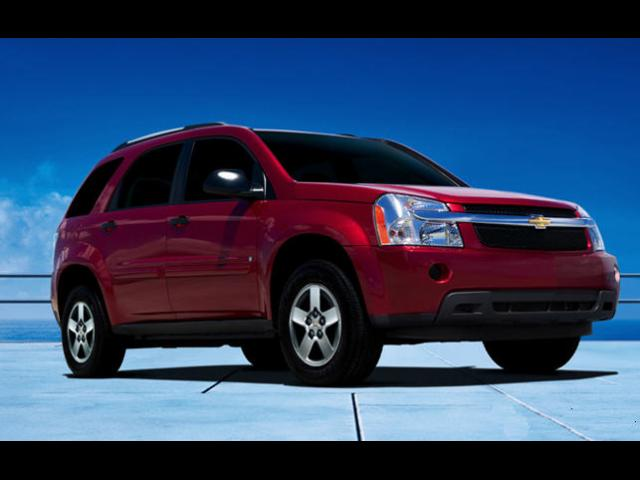Junk 2008 Chevrolet Equinox in Houston