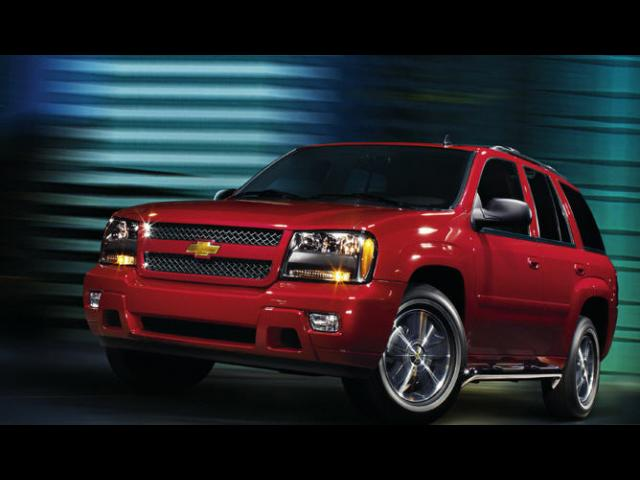 Junk 2008 Chevrolet TrailBlazer in Topeka