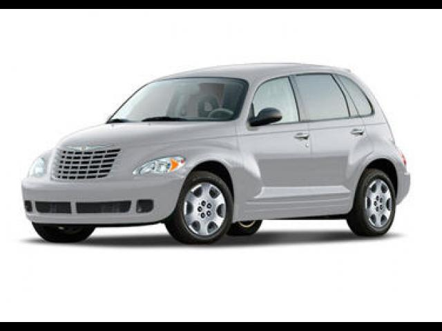Junk 2008 Chrysler PT Cruiser in Orange