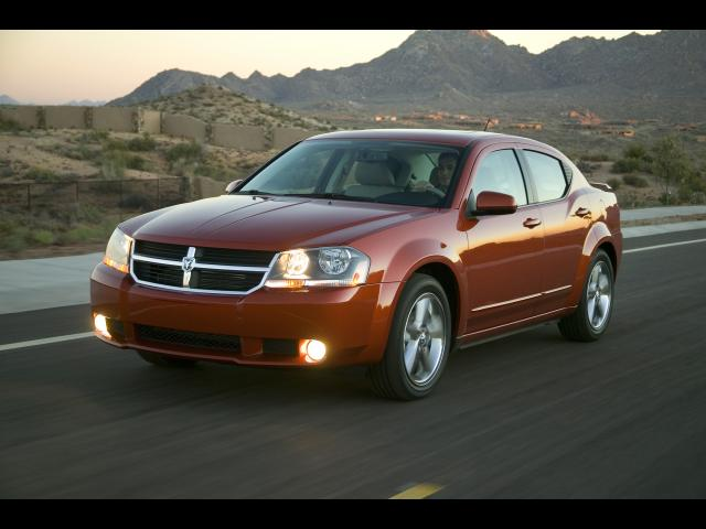 Junk 2008 Dodge Avenger in Alton