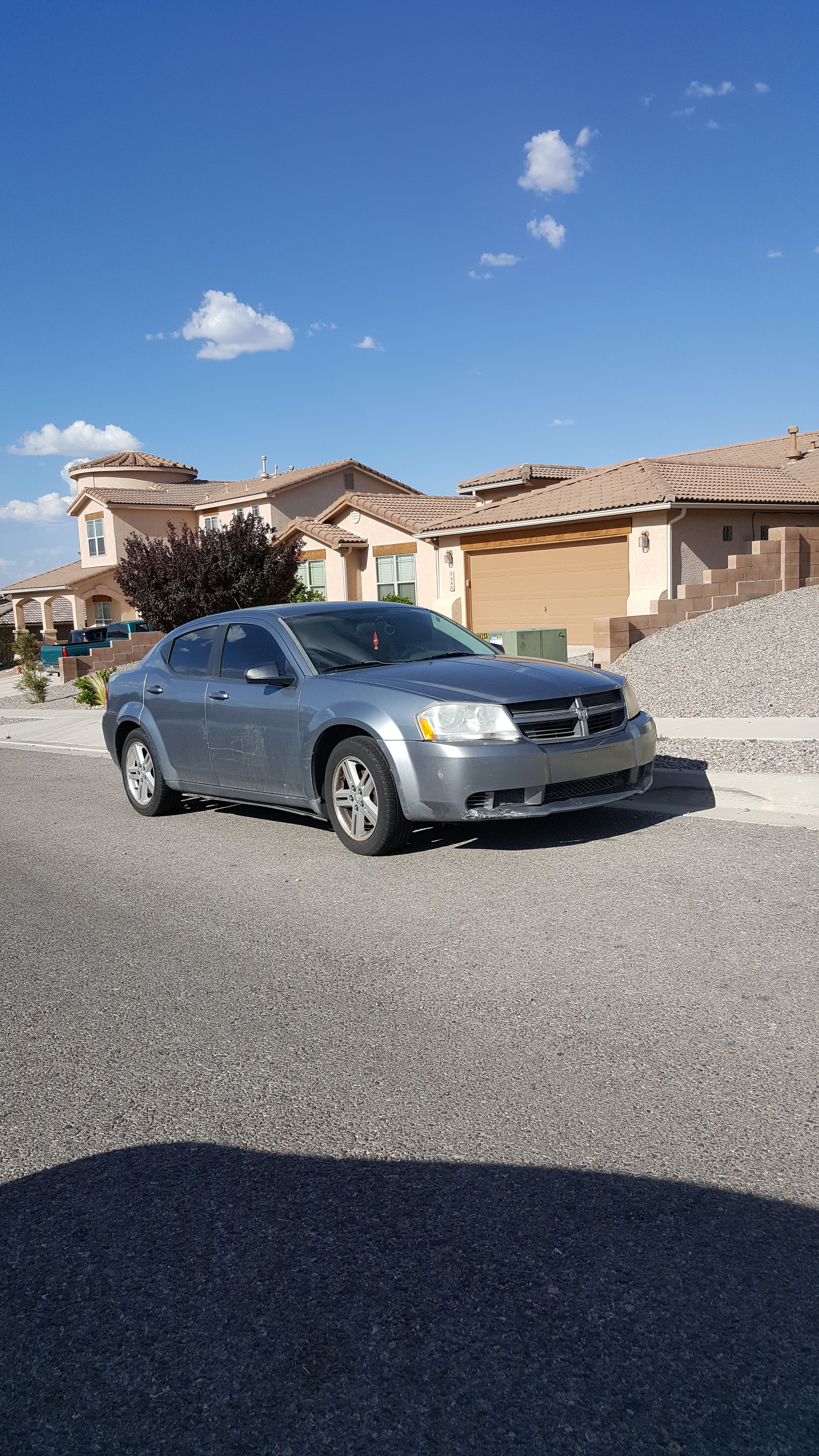 Junk 2008 Dodge Avenger in Rio Rancho
