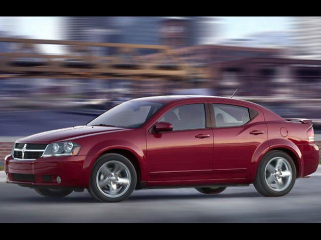 Junk 2008 Dodge Avenger in Round Rock