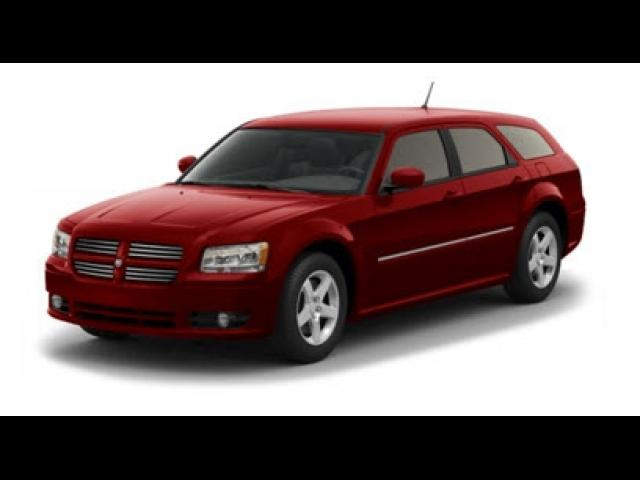 Junk 2008 Dodge Magnum in Houston