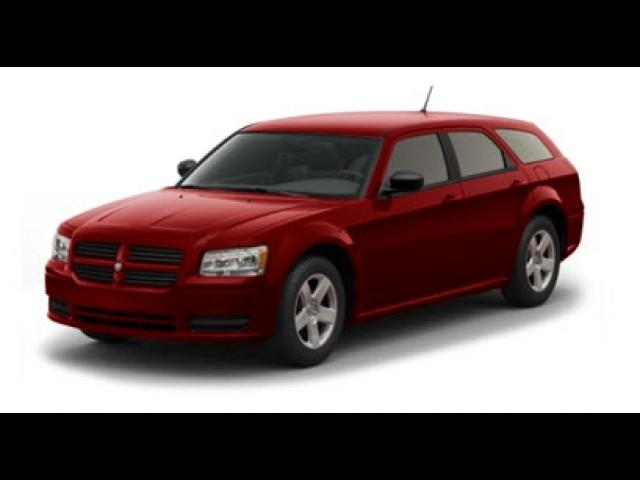 Junk 2008 Dodge Magnum in Texas City
