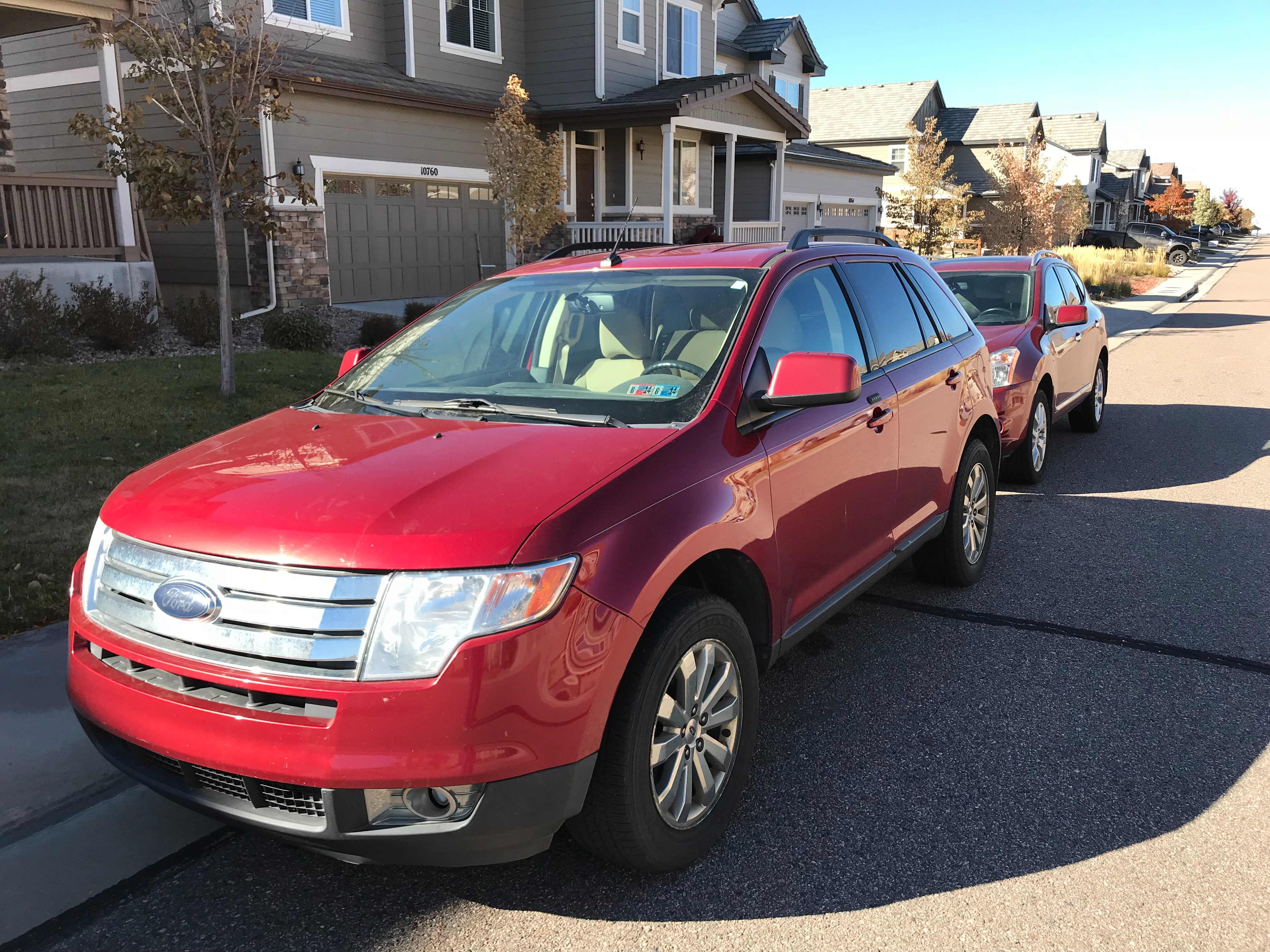 Junk 2008 Ford Edge in Parker