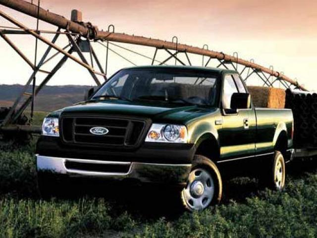 Junk 2008 Ford F150 in Warren