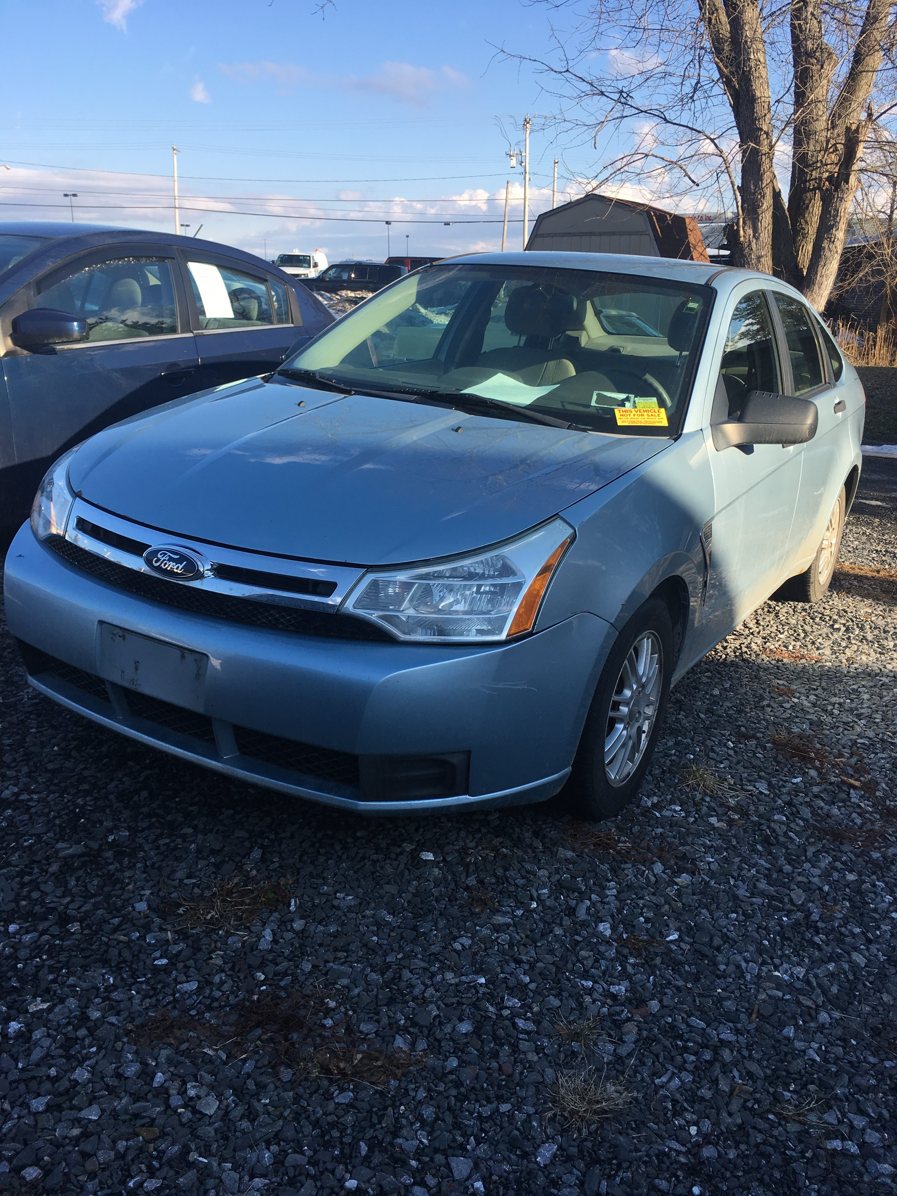 Junk 2008 Ford Focus in Hudson