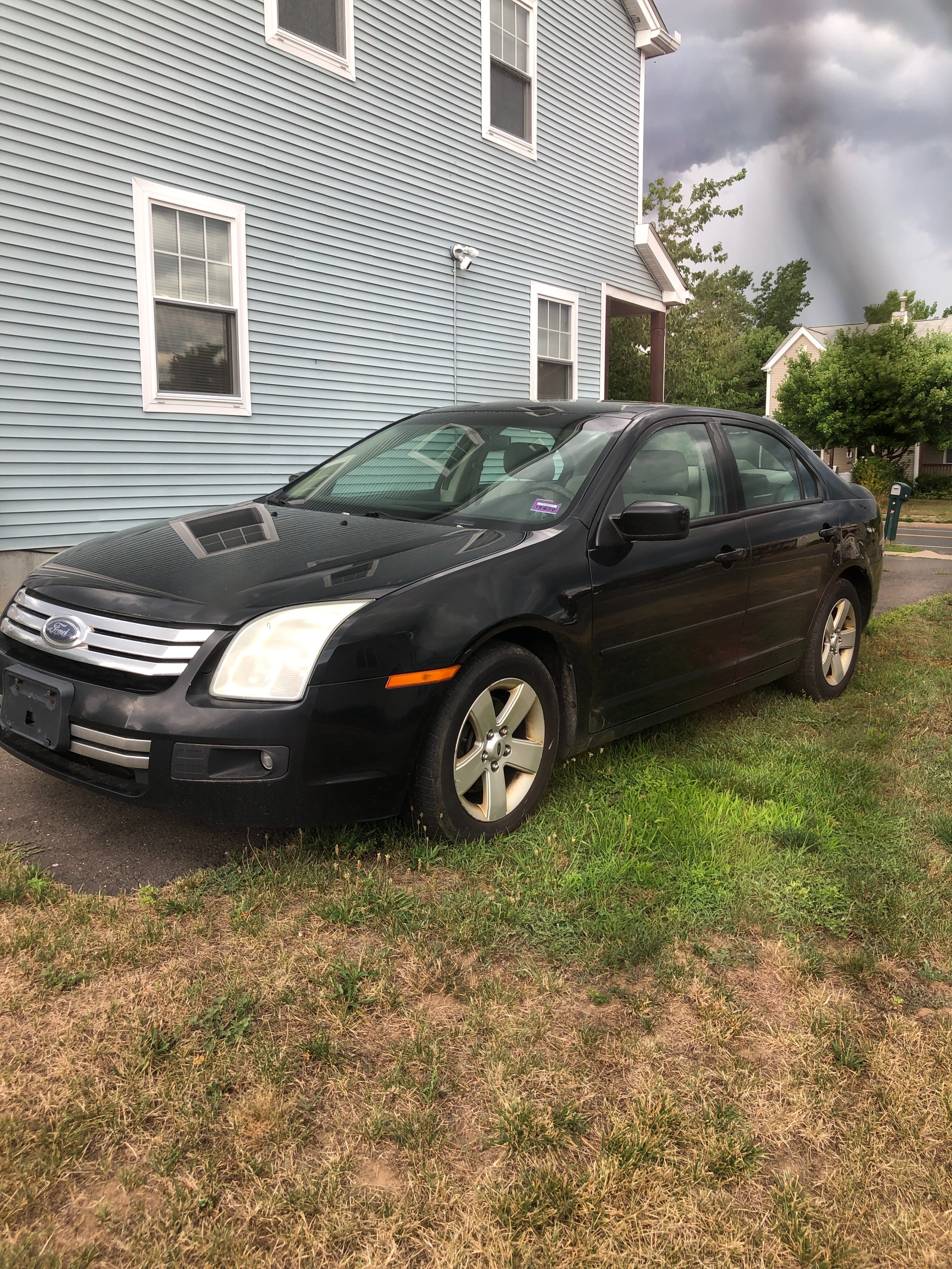 Junk 2008 Ford Fusion in Hartford