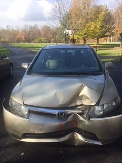 Junk 2008 Honda Civic in Bangor