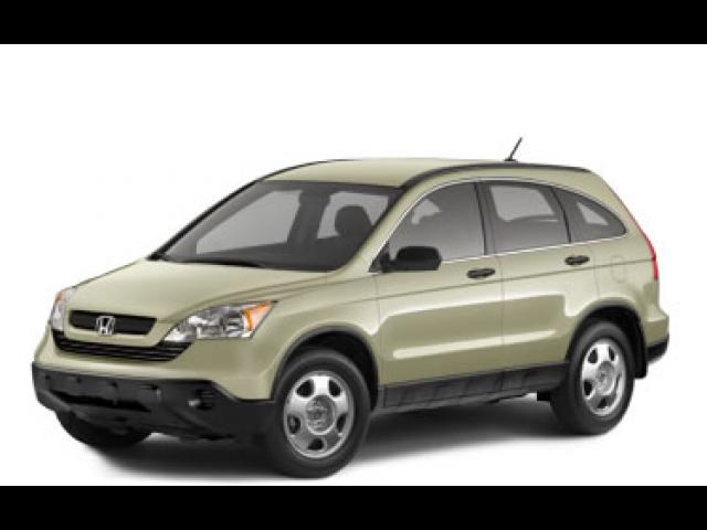 Junk 2008 Honda CR-V in Gray