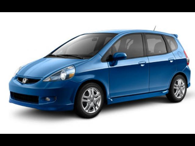 Junk 2008 Honda Fit in Paramus