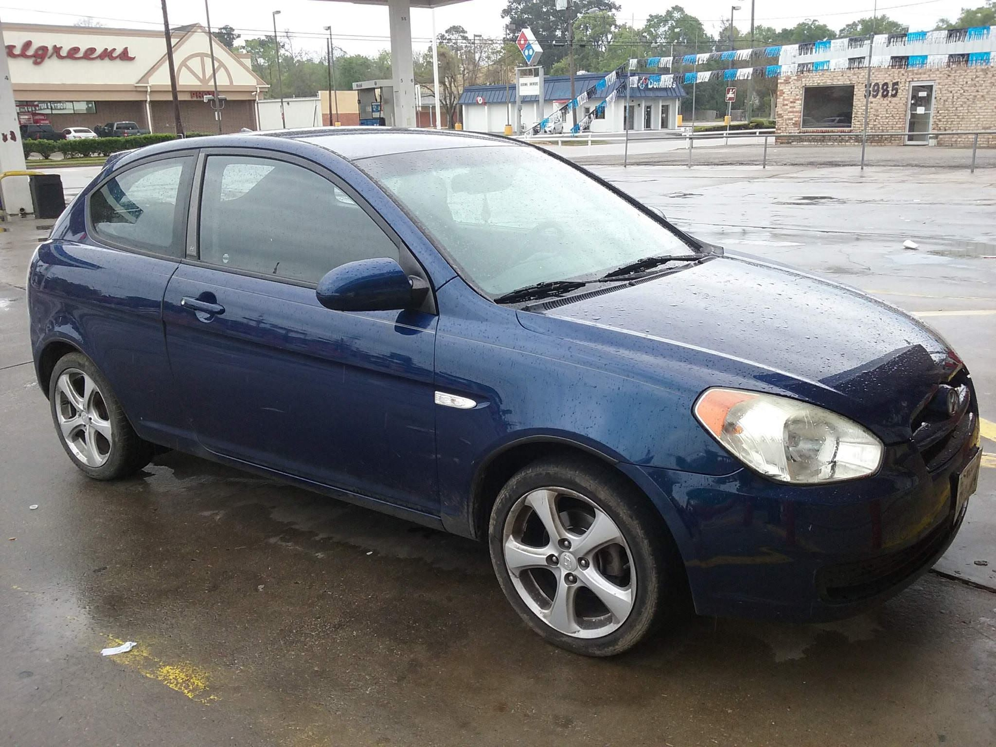 Junk 2008 Hyundai Accent in Beaumont