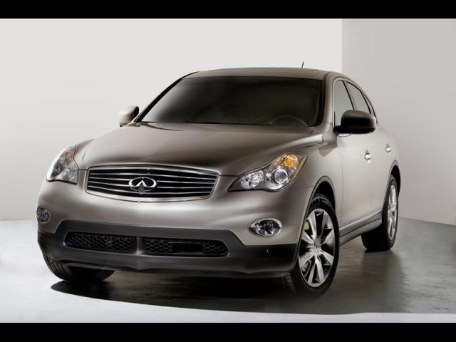 Junk 2008 Infiniti EX35 in Greenville