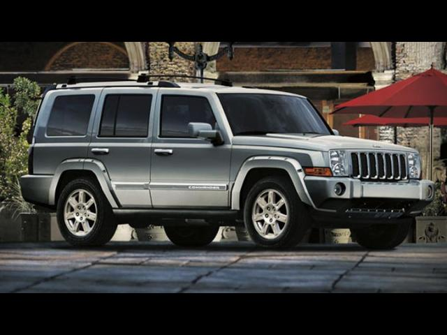 Junk 2008 Jeep Commander in Asbury Park