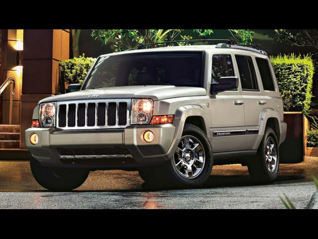 Junk 2008 Jeep Commander in San Clemente