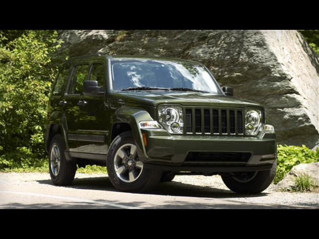 Junk 2008 Jeep Liberty in Akron