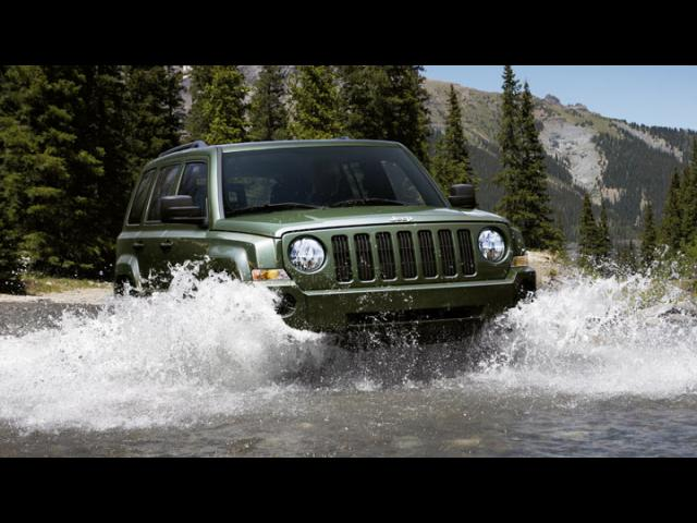 Junk 2008 Jeep Patriot in Reno