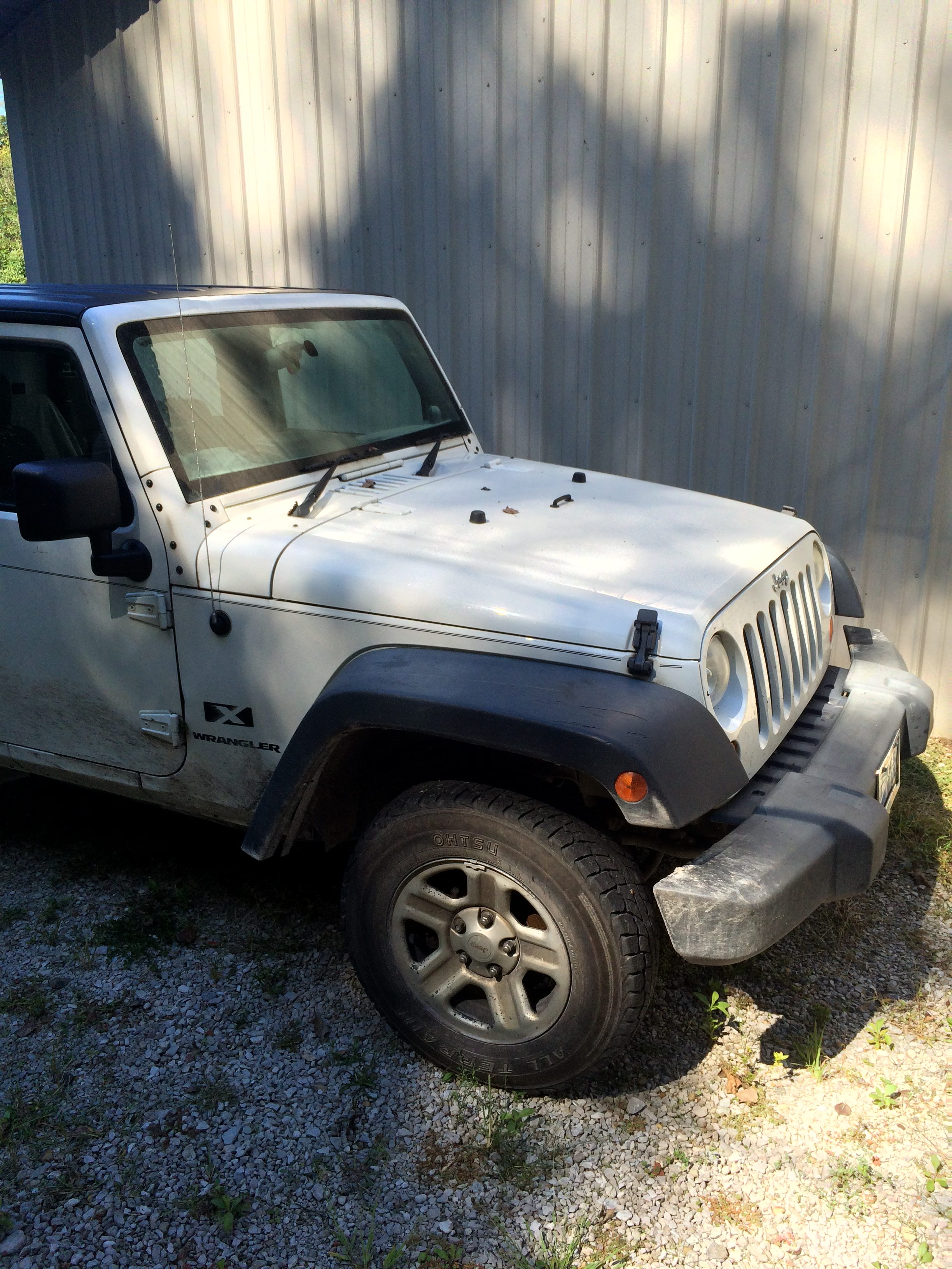 Junk 2008 Jeep Wrangler in Gosport