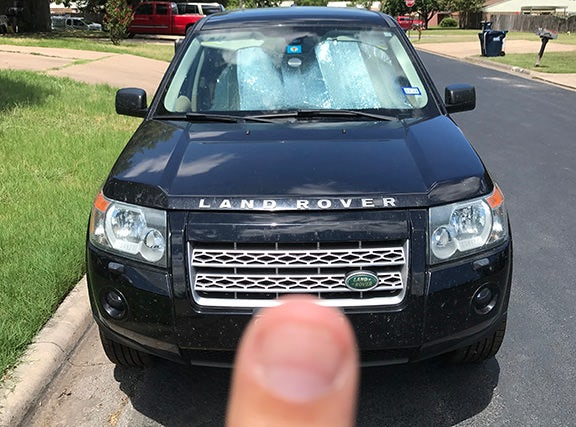 Junk 2008 Land Rover LR2 in College Station