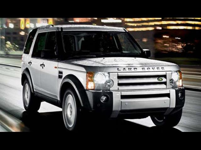 Junk 2008 Land Rover LR3 in Fort Worth