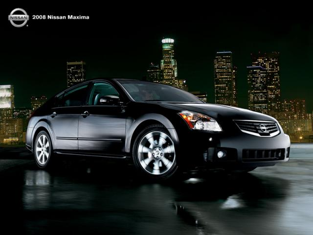 Junk 2008 Nissan Maxima in Normal