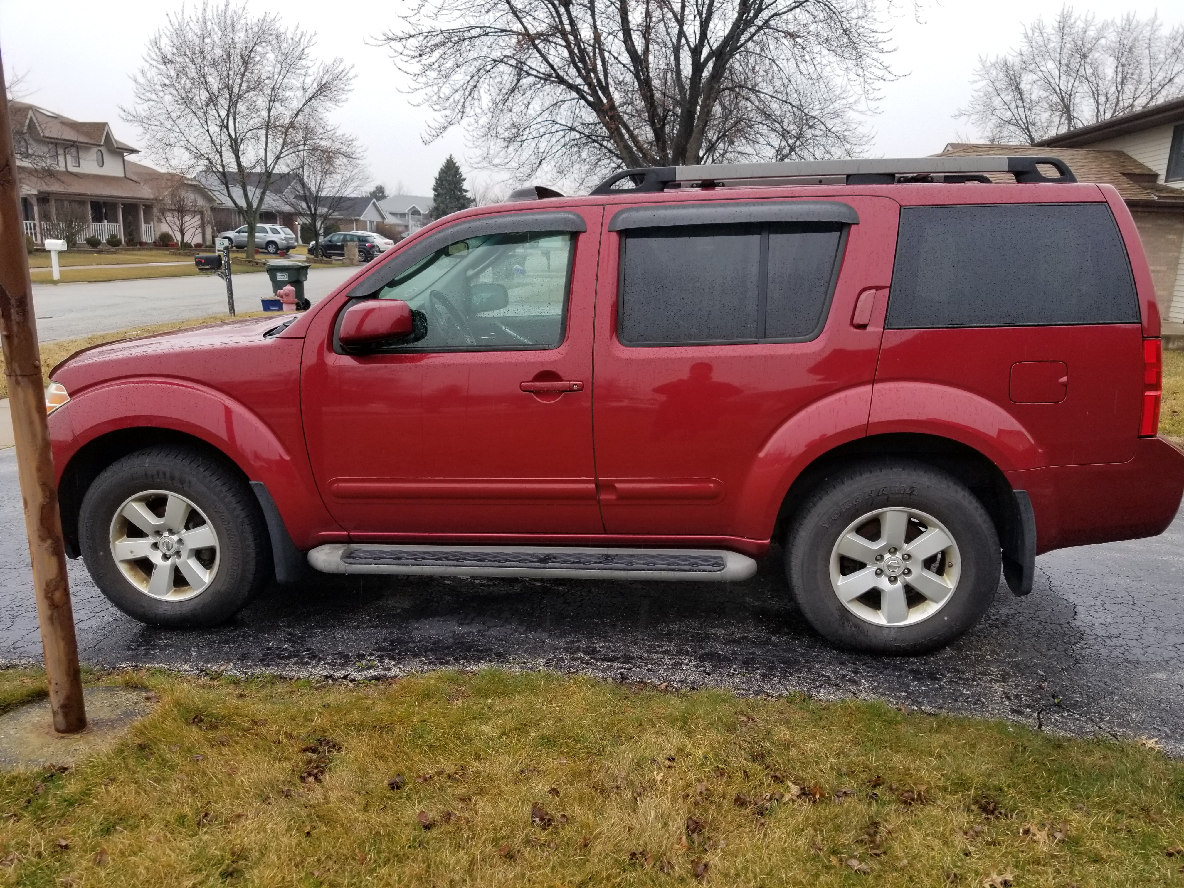 Junk 2008 Nissan Pathfinder in Chicago Heights
