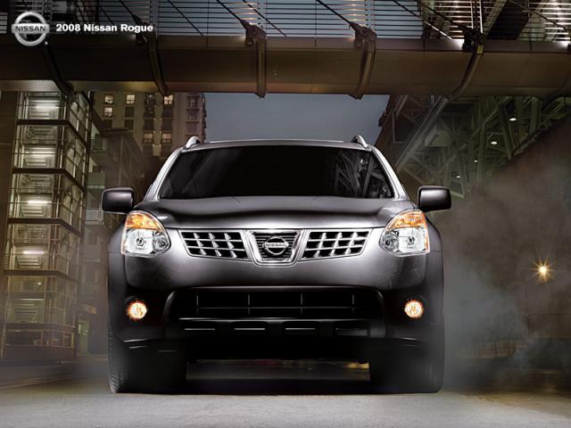 Junk 2008 Nissan Rogue in Black Mountain