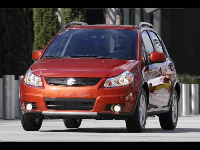 Junk 2008 Suzuki SX4 in Riverton