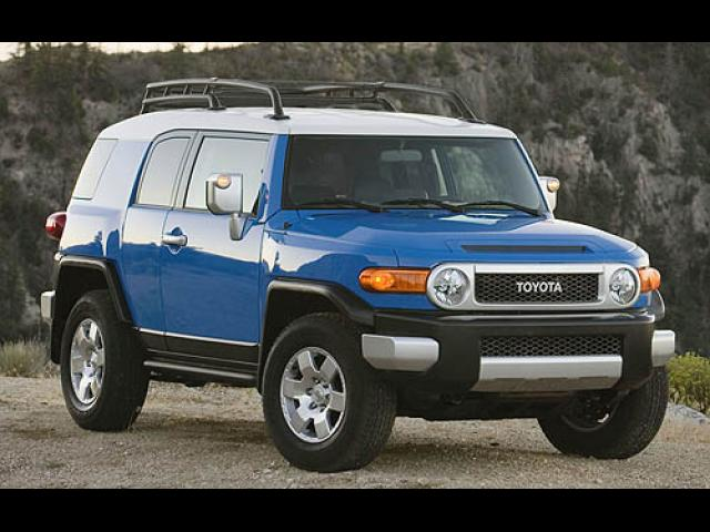 Junk 2008 Toyota FJ Cruiser in West Orange