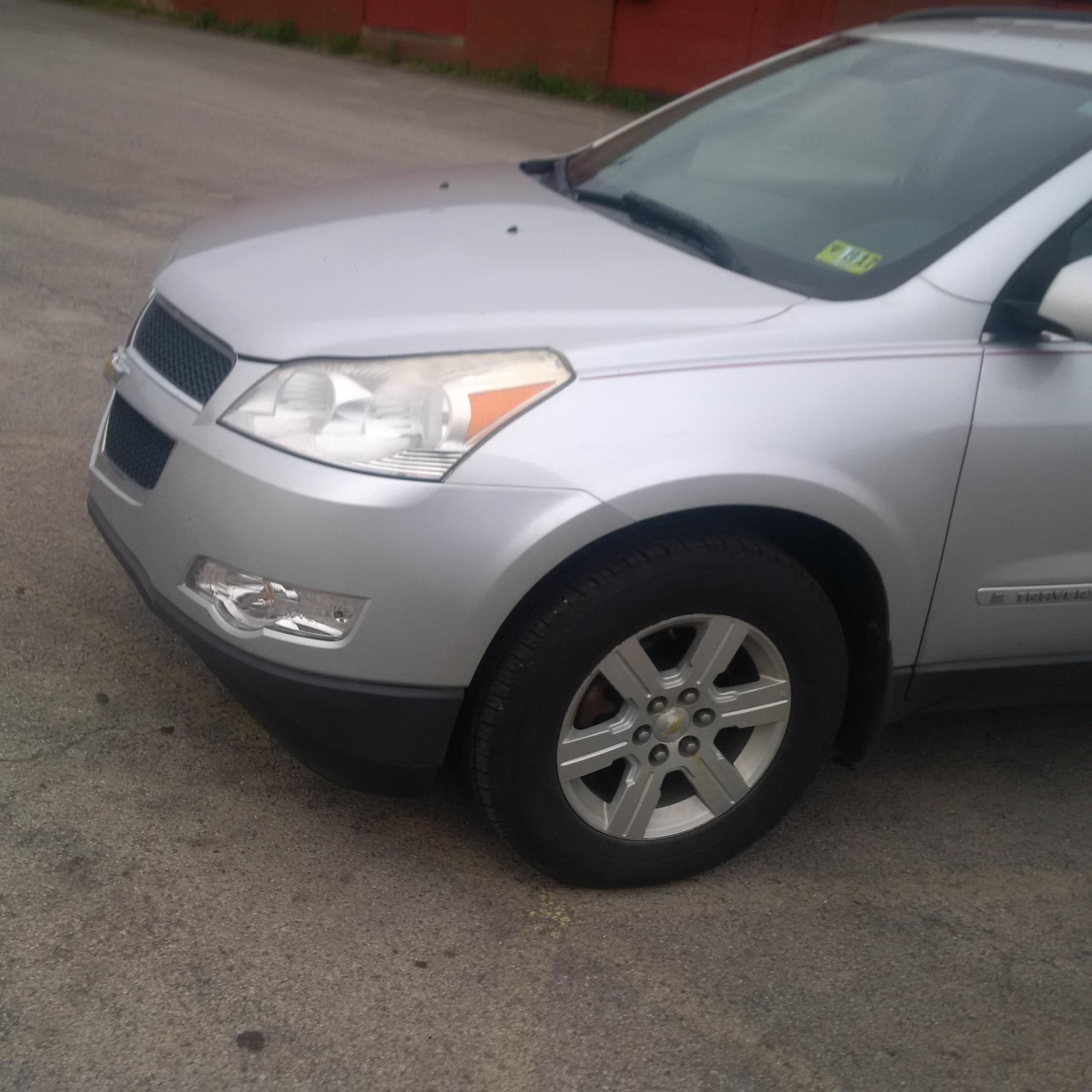 Junk 2009 Chevrolet Traverse in New Cumberland