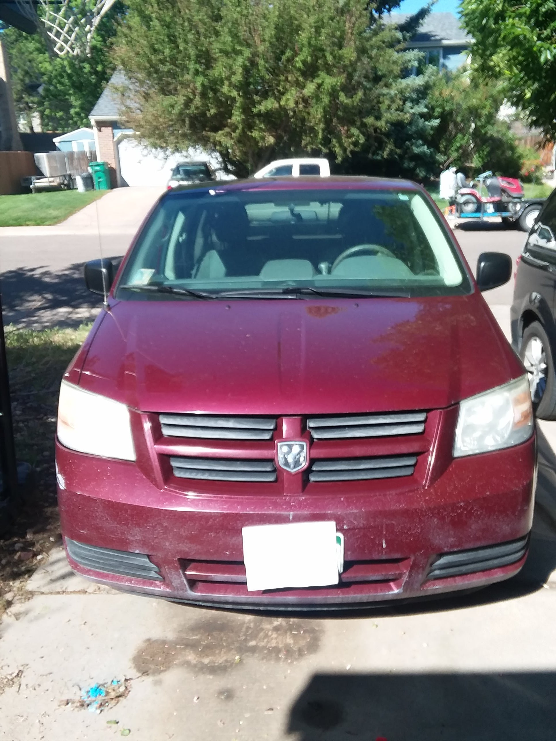 Junk 2009 Dodge Grand Caravan in Littleton