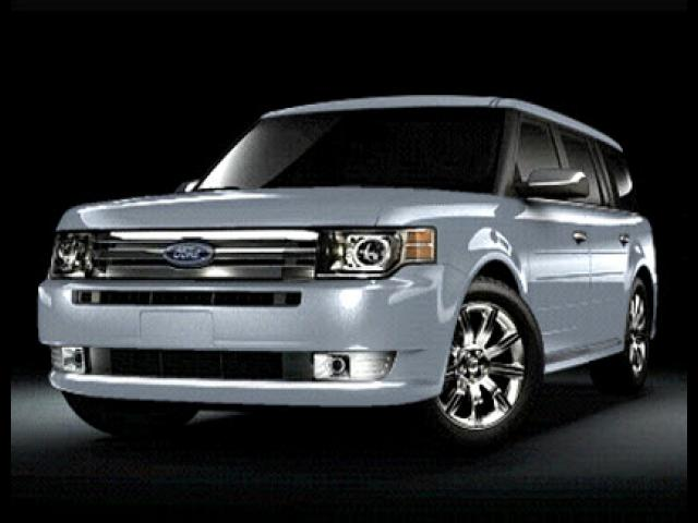 Junk 2009 Ford Flex in North Port