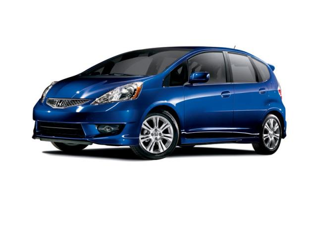 Junk 2009 Honda Fit in Houston
