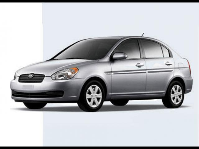 Junk 2009 Hyundai Accent in Upland