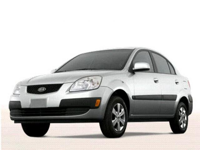 Junk 2009 Kia Rio in Fort Worth