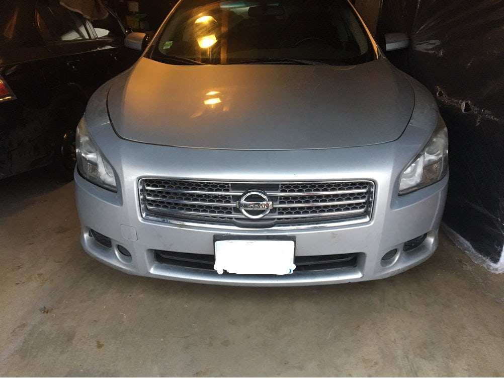 Junk 2009 Nissan Maxima in Dolton