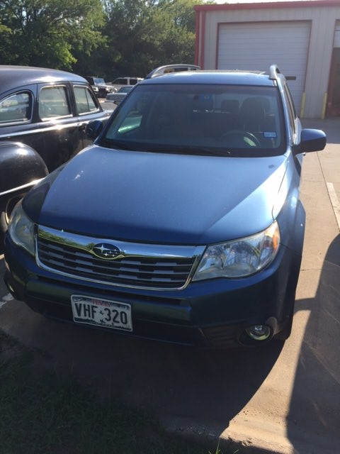 Junk 2009 Subaru Forester in Lake Dallas