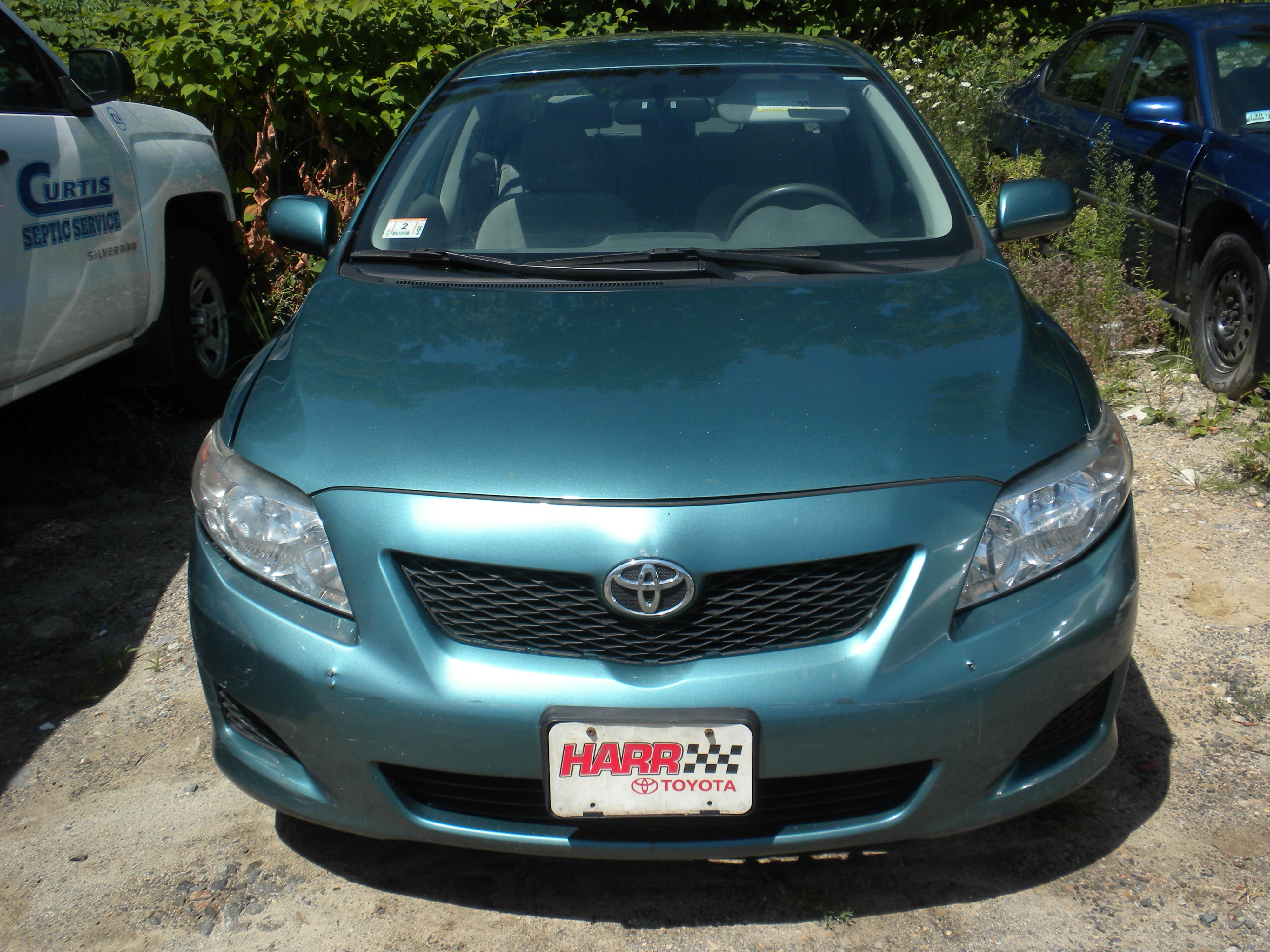 Junk 2009 Toyota Corolla in West Boylston