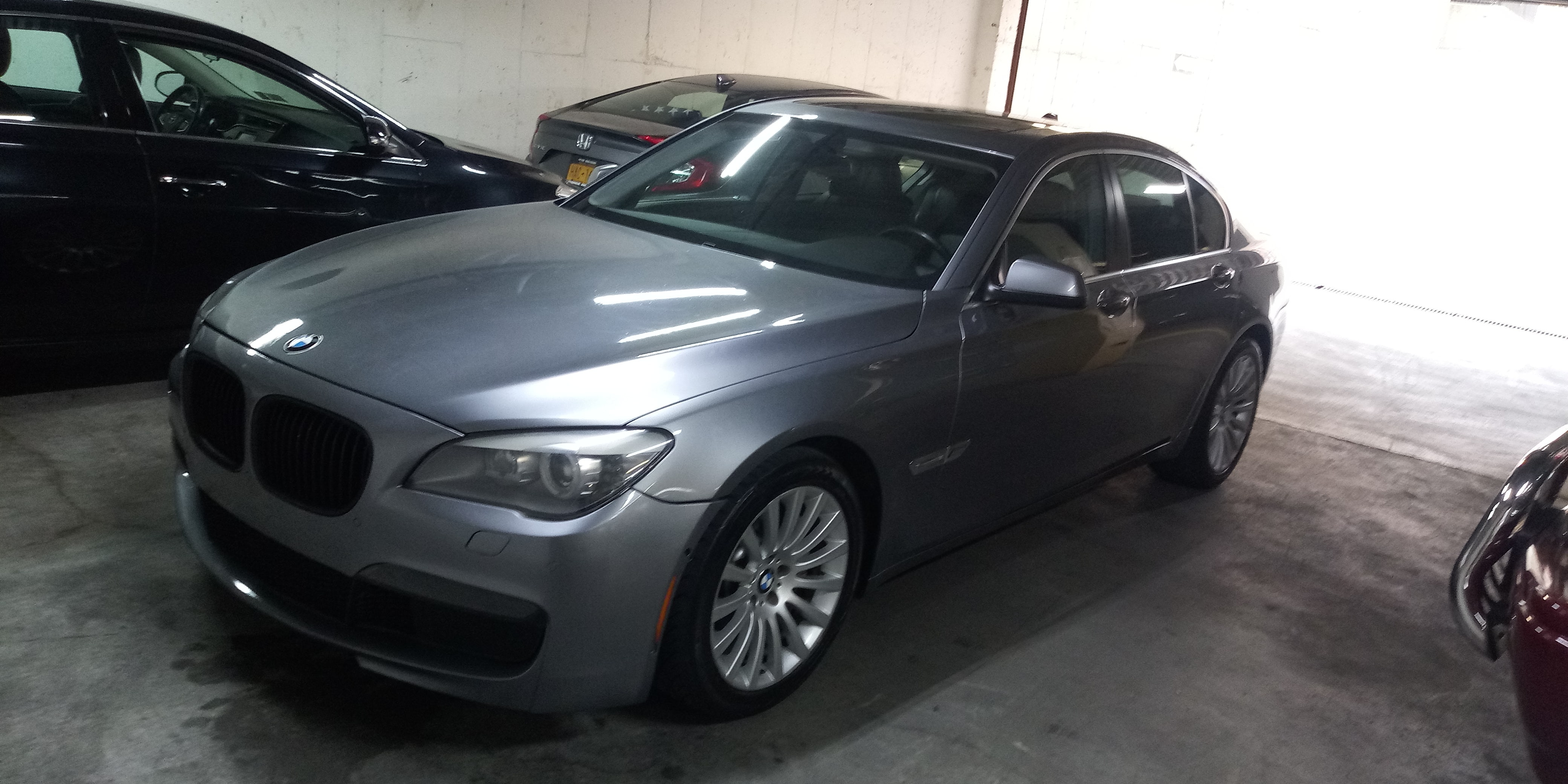 Junk 2010 BMW 750 in Bronx